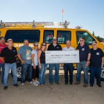 Sandfest Donates to Fire &amp; Recue, Parks Dept.