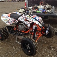 Josh Pursell's Quadx Rnd 2 Perris Raceway race report