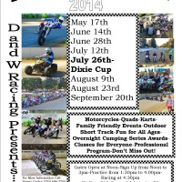 2014 Rainier Flat Track Info and AMA GNC Flat Track at Elma 1/2 Mile