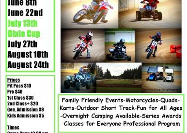 Rainier Flat Track This Saturday!