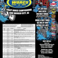 WORCS round 3 Lake Havasu flyer